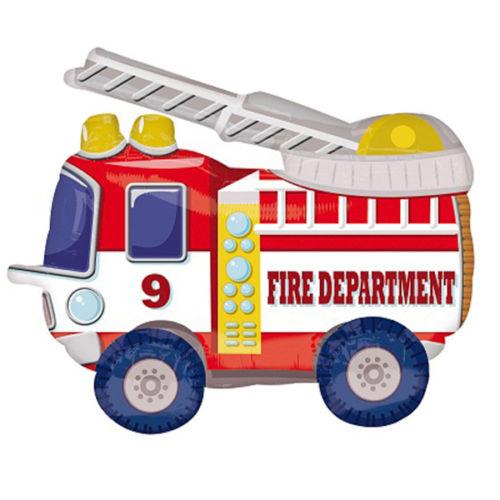 Ходячий шар «пожарная машина»