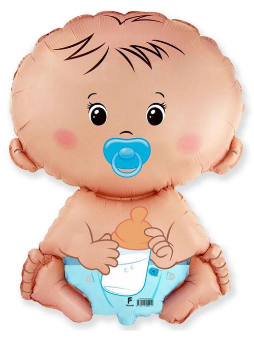 Фольгированный шар«Малыш мальчик»