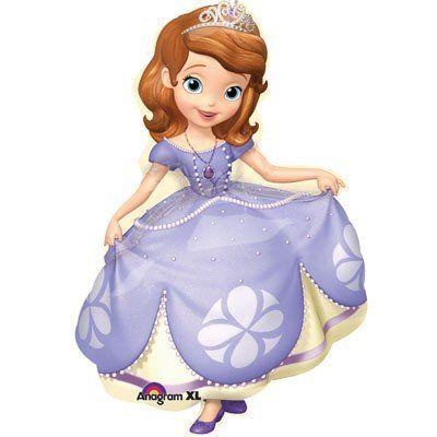 Фольгированный шар«Принцесса София»