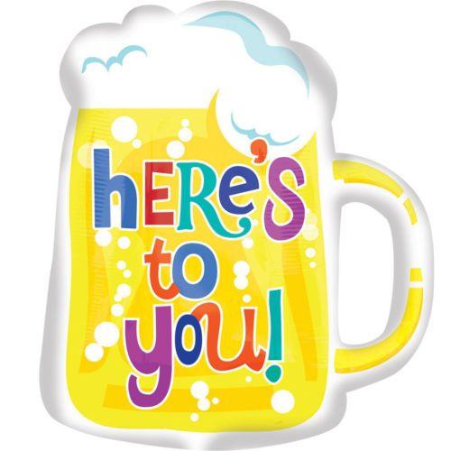 Фольгированный шар«Кружка пива (для тебя)»