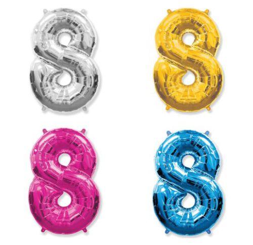 Фольгированный шар «Цифра  8»
