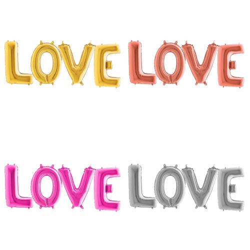 Фольгированная надпись «LOVE»