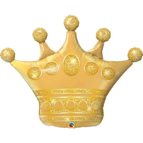 Фольгированный шар «Корона принцессы»