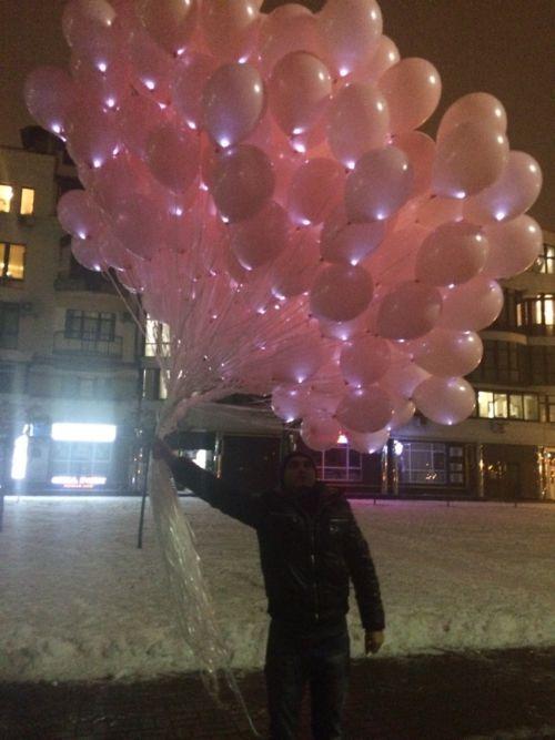 «Светящиеся шары»