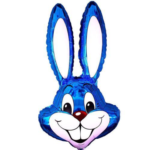 Мордочка зайца синяя