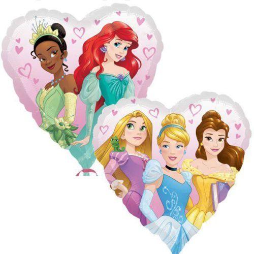 Фольгированное сердце «Принцессы»