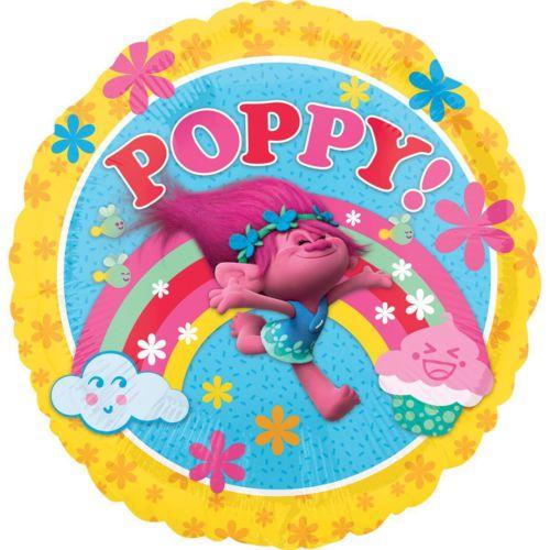 Фольгированный круг «Тролли Poppy»