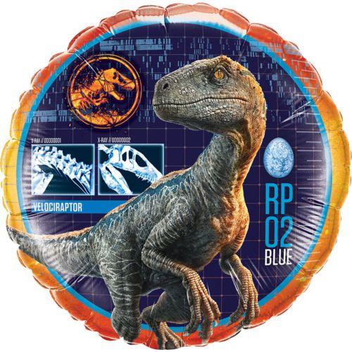 Фольгированный круг «Динозавр»