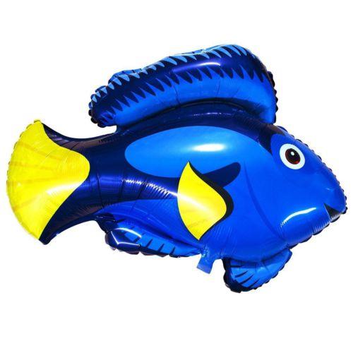 Фольгированный шар «рыбка синяя»