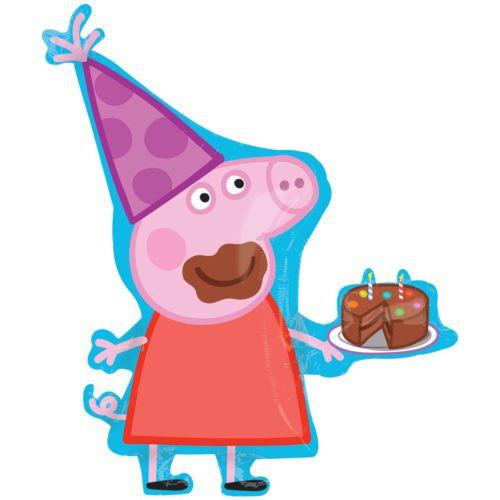 Свинка Пеппа с тортиком