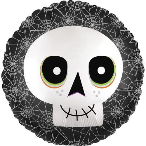 «Halloween» Круг с черепом