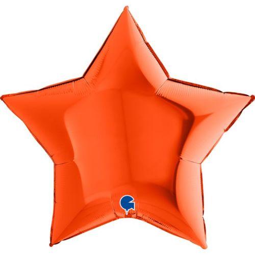 «Halloween» Звезда оранжевая