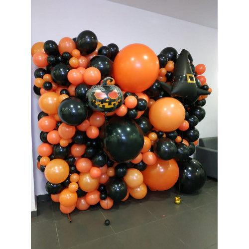 «Halloween» Фотозона из шаров № 1