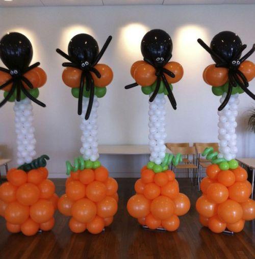 «Halloween» Стойка из шаров