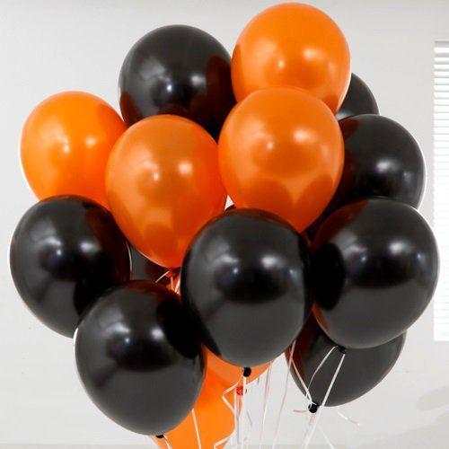 «Halloween» Черные и оранжевые