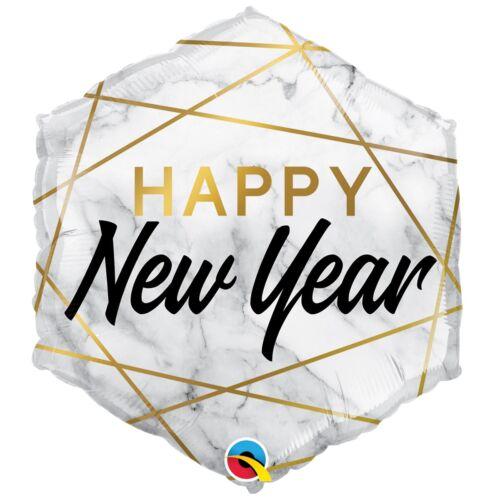 Новый год «Мрамор шестиугольник»
