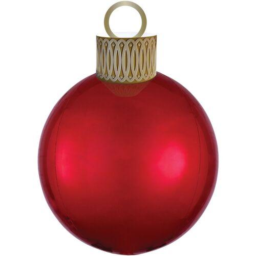 Новый год «Ёлочная игрушка красный»