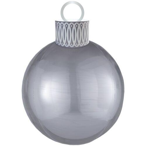 Новый год «Ёлочная игрушка серебро»